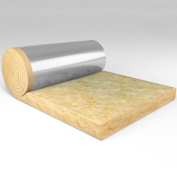 Lana de vidrio Isover Fieltro Tensado Aluminio hidrorrepelente