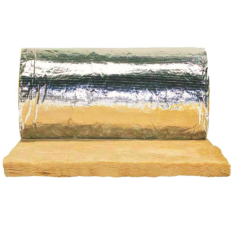 Aislación de lana de vidrio Isover Tech Plata