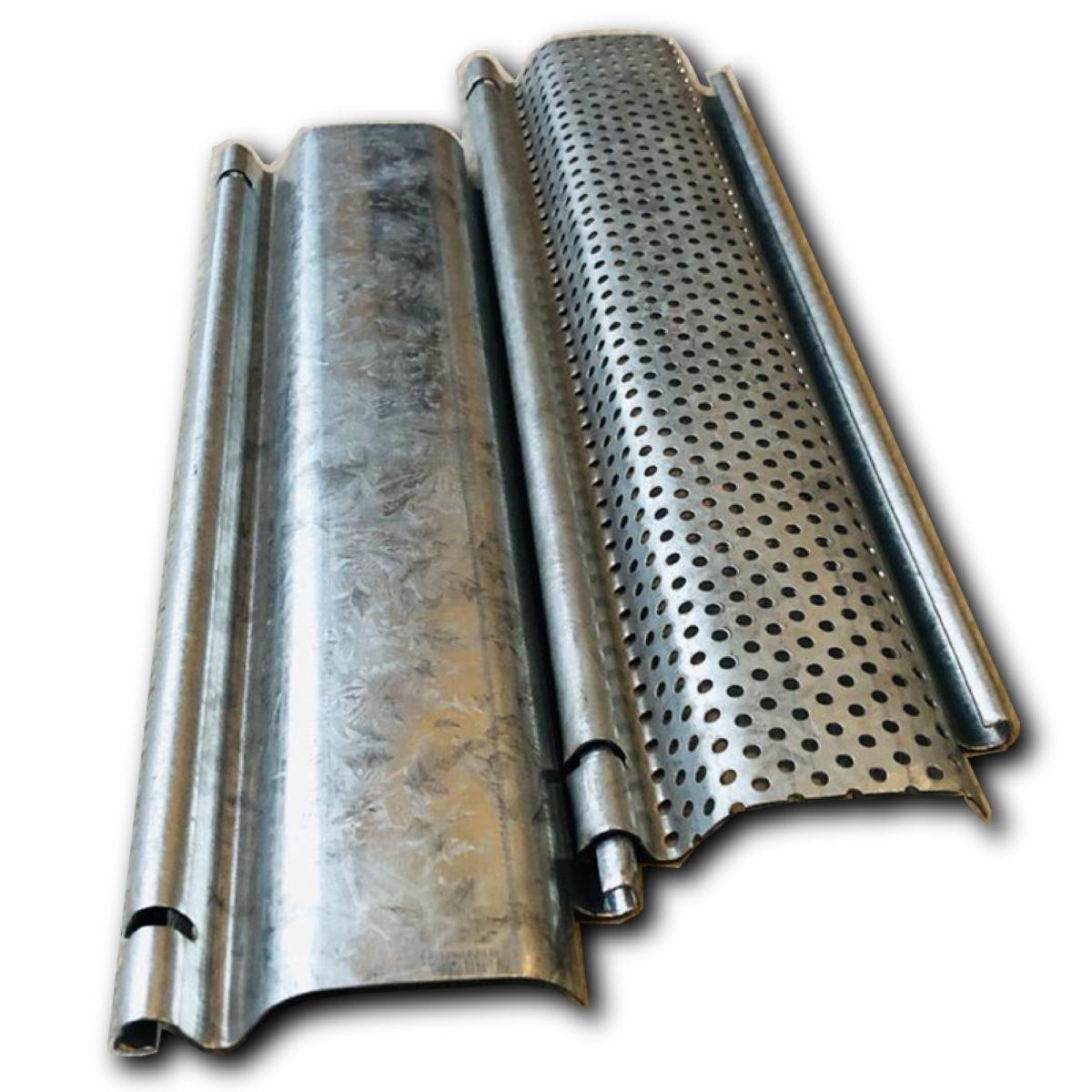 Tablillas para cortinas metalicas